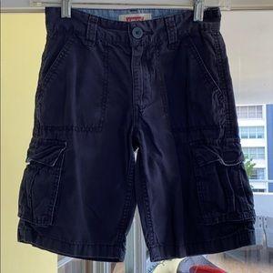 Levi's Navy Cargo Shorts